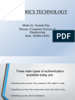Biometrics for CSE ppt