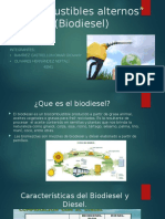 Combustibles Alternos Biodiesel