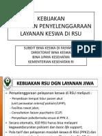 PEDOMAN PENYELENGGARAAN LAYANAN KESWA DI RSU.pptx