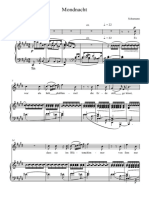 Mondnacht - Full Score