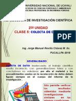 Metodologia de Investigación Cientifica Clase1 2018 0