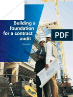 Building Foundation Contract Audit