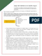 Detección y Manejo Del Maltrato en El Adulto Mayor GPC