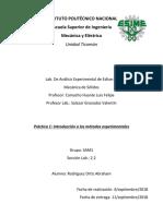 Práctica 1 Introducción a Los Métodos Experimentales