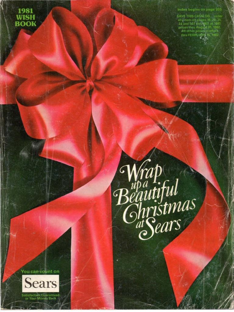 593945f964c2 1981 Sears Christmas Book | Flash (Photography) | Christmas