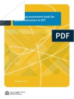 161227 DTWD Designing Assesssment Tools for Quality Outcomes 2013 V1.1