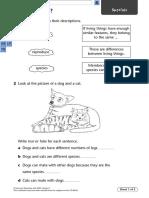 Unit 7D Variations and Classifications