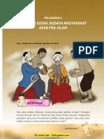 SKI MI Kelas 3 Bab 1 Keadaan Sosial Budaya Masyarakat Arab Pra Islam