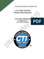 ACC Gear Reducer Standard Initial Draft