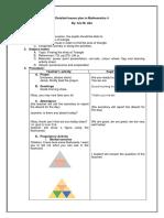 Detailed Lesson Plan in Mathematics 4