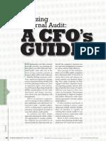 Utilizing Internal Audit CFO Guide