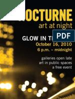 Nocturne Art at Night 2010