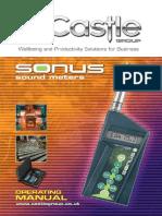Manual GA116 GA216 GA257 Sonus Operating Manual
