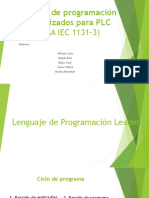 Lenguaje de Programacion Estandarizados