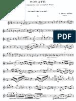 [Clarinet_Institute] SaintSaens Sonata.pdf