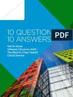 Vmware Cloud on Aws 10 Questions 10 Answers eBook