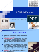 1. DNA in Forensic