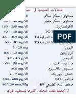 المعدلات الطبيعية في جسم الأنسان .pdf