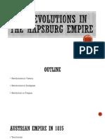 1848 Revolutions in the Austrian Empire