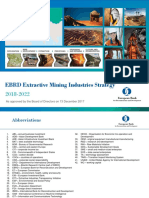 ERBD Extractive Mining Industry Strategy-European Bank