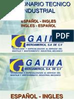 Diccionario Esp Ing industrial