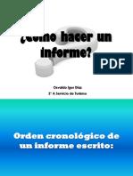Cmo Hacer Un Informe1 8