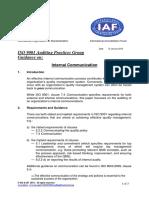 APG InternalCommunication2015