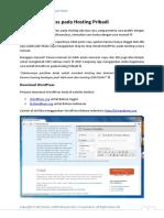 Install WordPress Pada Hosting Pribadi