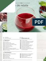 Bosch Slow Juicer Recipe Book RO