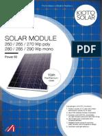 Kioto Solar Db Power60 en 150216