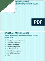Mk Teori Organisasi 1