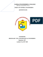 BE8252-Basic Civil and Mechanical Engineering