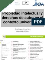 2018-12-13, TIC en Investigación, Derechos de Autor