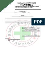 6. Form Standar Surat Edaran Direktur