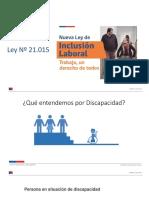 Clase Inclusión Laboral 2013