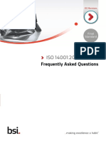 Mostly asked question related to iso 14001
