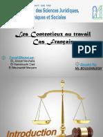 Les Contentieux '' Cas Français ''