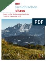 Programa Presidencia Austria