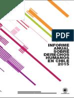INFORME ANUAL SOBRE DERECHOS HUMANOS en CHILE 2015 - Capítulo 6 Diversidad Sexual y Educación Inclusiva - Centro de Derechos Humanos UDP