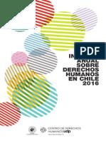 Informe Anual Sobre Derechos Humanos en Chile 2017 - Centro de Derechos Humanos Udp