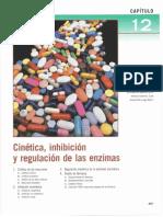 Cap 12. Cinética, Inhibición y Regulación de Las Enzimas