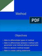 PCP Chapter 6 - Method