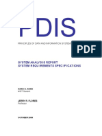 PDIS SAR SRS_Online Faculty Evaluation