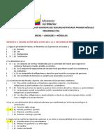 BANCO D EPREGUNTAS MINISTERIO INTERIOR Ceforcap Centro de Formacion y Capacitacion de Guardias de Seguridad Riobamba