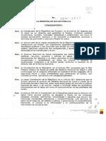 Acuerdo Ministerial 91 Norma Técnica Sustitutiva de Relacionamiento Para La Prestación de Servicios de Salud Entre Instituciones de La Red Pública Integral de Salud y de La Red Privada Complementaria, y Su Recono
