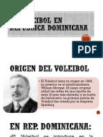 El Voleibol en República Dominicana