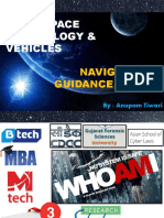 SPACE TECHNOLOGY BASICS & PRIMER ON NAVIGATION GUIDANCE SYSTEMS