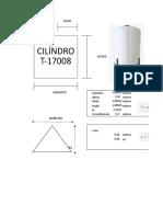 Cubicación Diésel T-17008
