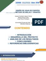 Análisis y Diseño de Vigas de Puentes Usando El Método de Bielas y Tirantes