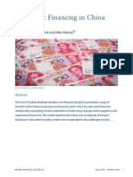 2018 Reserve Bank Chinas Shadow Banking Sector